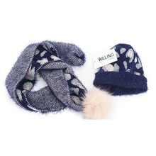 f9daad98b20 Kids fashion knitted scarves with same style hats from Hangzhou Willing  Textile Co. Ltd