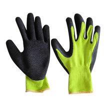 80g Heavy Duty Gloves Household Garden Outdoor Black Rubber Latex Flock Lined