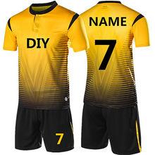 4fc444045 New Kids Adult Soccer Jersey Set survetement Football Kit Men child Futbol  Training Uniforms De Foot
