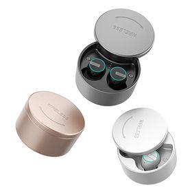 86f4dad92b2 Mini Wireless Earbuds with Mic Waterproof TWS Headset with Portable  Power,Hi-Fi sound