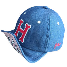 86885740f31f8 Baby s sports cap made with denim fabric