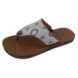 9bfae8c12f47ad Women s Flip-flop · Slippers Leather Upper and TPR Outsole with Lovely  Design