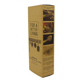 7b516c549 La aduana imprimió la caja de papel de empaquetado del regalo plegable de  Kraft de la