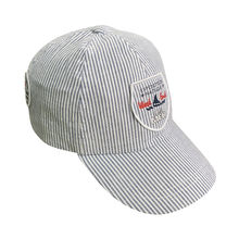 874bf1ccbe076 Children s sports cap made with striped fabric