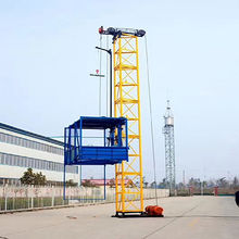 China SS120 Single cage cheap Material Hoist/elevator on