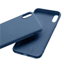 New Product 2019 Four Sides Microfiber Phone Case Liquid Silicone TPU Cover