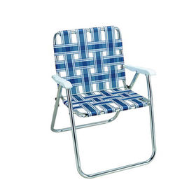 7d4250197a1a Aluminium folding beach chair, PP belt for seat and backrest, shiny finish  from Shenzhen