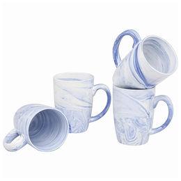 acd0416dba5 11oz White and Blue Ceramic Coffee Mug from Xiamen Yoyo Ceramic Trading Co.  Ltd