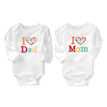 1d3163bb7 China Factory wholesale customized fine letters embroidery toddler baby  infant long sleeve bodysuit