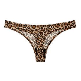 fc50147e69a8 China Hot sale plus size seamless leopard pattern g-string girls panties  bikini thong