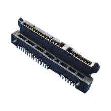 2x D-SUB DB15 15 Pin 2 Rows Female Right Angle PCB Solder Type Adapter Connector