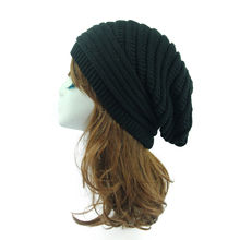 G-Fulling Colorful Trumpet Woolen Hat Unisex Beanie Hat Warm Hats Skull Cap Knitted Hat