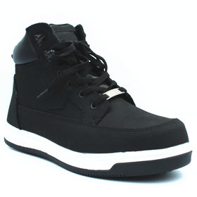 Boys Black Spot On X2032 Slippers