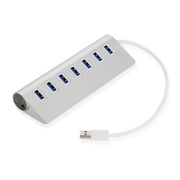 USB3.0 Splitter Computer Notebook Expansion Hub Hub White Color : White , Size : 0.5m
