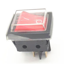 NEW Canal PS-5 waterproof button red with Red light switch 4 pin