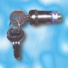 High-Security Keylock Switch from Taiwan
