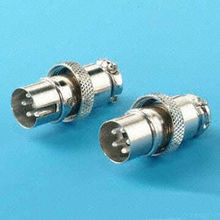 Precision-Made Cable Type 5-Pin Male CB Connectors from Taiwan