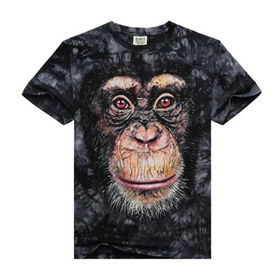 Men's T-shirts 3D printing from  Qingdao Classic Landy Garments Co. Ltd