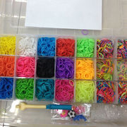 Rainbow Loom Rubber Band from  Baoding Huaxiang Industry Company Limited