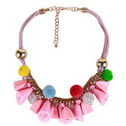 Popular Pom Pom Necklaces from  Chanch Accessories International Co. Ltd