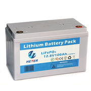 Deep Cycle 12V 100AH LiFePO4 Lithium Battery Pack from  Shandong Goldencell Electronics Technology Co. Ltd