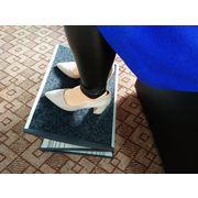 China New Design Ergonomic Office Supply Metal Massage Adjustable Footrest