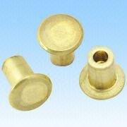 Brass Rivets from  HLC Metal Parts Ltd