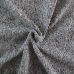 CVC thick needle one side brushed fleece fabric from  Suzhou Best Forest Import and Export Co. Ltd