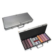 Poker chip case from  NINGBO SINCERECARE IMPORT AND EXPORT CO.,LTD