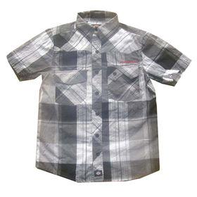 Boys' short sleeved shirts from  Qingdao Classic Landy Garments Co. Ltd