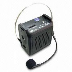CE-approved Portable Voice Amplifier from  Wealthland (Audio) Limited
