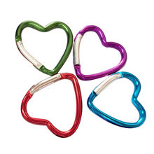 Heart-shaped carabiner from  Quanzhou Creational Accessories Co. Limited