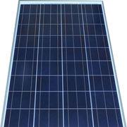 150W solar panel, polycrystalline solar cells, 18V