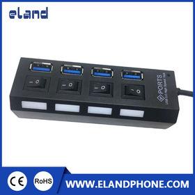 USB 3.0 4-ports hub from  Elandphone Electronic Co. Ltd