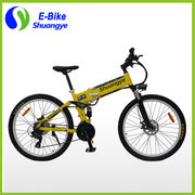 "China 26"" folding mountain electric dirt bikes, sale for adults"