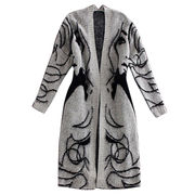 Women's long knitted cardigan from  Meimei Fashion Garment Co. Ltd