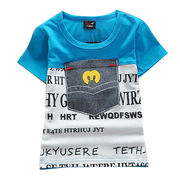 Boys' short sleeved t-shirts from  Meimei Fashion Garment Co. Ltd