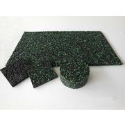 China Rubber Granules Damping Sheet, Used in Sports Stadiums