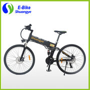 """China 26"""" folding mountain electric dirt bikes, sale for adults"""