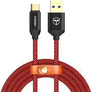 USB-C to USB A 3.0 type-C fast charging cable from  Yuda Electronic (HK) Technology Co.,Limited