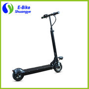 China 2 wheel 8 inch lithium battery folding electric scooter for sale