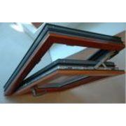 China European Design Aluminium Clad Wood Door