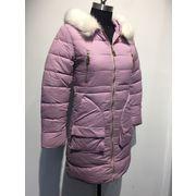 China Long coat memory like fabric cotton