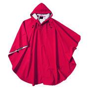 Rain jacket PU poncho from  Fuzhou H&f Garment Co.,LTD