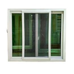 UPVC White Sliding Window from  Kin Kei Hardware Industries Ltd