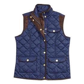 Men's padded vest from  Qingdao Classic Landy Garments Co. Ltd