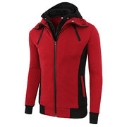 Customized design polar fleece jacket from  Fuzhou H&f Garment Co.,LTD