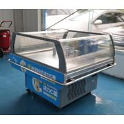 China Small fan cooling milk, dairy, and fresh food display cooler for convenience store