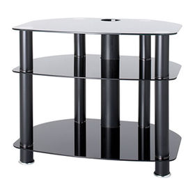 Tempered glass TV stand from  Zhilang Furniture Co.,Ltd