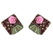 Handcrafted Crystal Earring from  Iris Fashion Accessories Co.Ltd